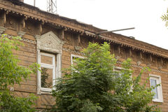 The ancient Russian town  Borovsk in July Stock Image