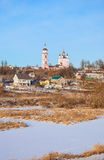 The ancient Russian town Borovsk Stock Photo