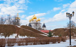 Ancient Russian town of Dmitrov Stock Images