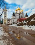 The ancient Russian town of Dmitrov Stock Images
