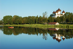 Ancient russian town Kargopol Royalty Free Stock Photography