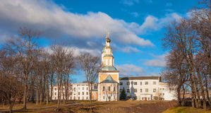 The ancient Russian town of Uglich royalty free stock images