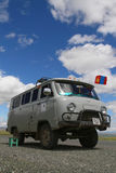 Ancient russian truck Royalty Free Stock Photography
