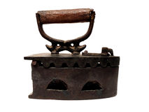 Ancient rusty iron Royalty Free Stock Photography