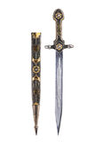 Ancient saber with scabbard Stock Photo