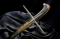 Ancient sabre stock images