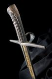 Ancient sabre Royalty Free Stock Photography