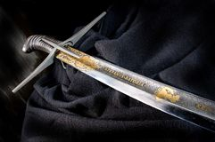 Ancient sabre Royalty Free Stock Images