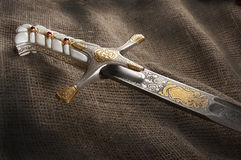 Ancient sabre Stock Photography