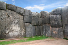 Ancient Sacsayhuaman Royalty Free Stock Photo