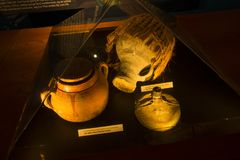 Ancient sailors utensil stock image