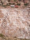 Ancient Salt basins Stock Images