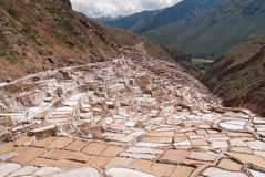 Ancient Salt basins used since Royalty Free Stock Images