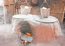 Ancient salt pot Stock Images
