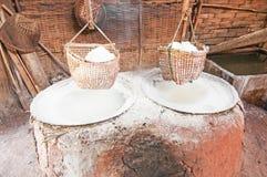 Ancient salt pot Royalty Free Stock Photos