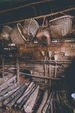 Ancient salt well Stock Image