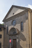 Ancient San Felice Piazza church in Florence Stock Photography