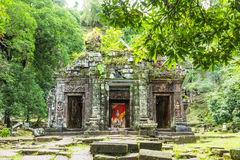 Ancient sanctuary at Lao Stock Image