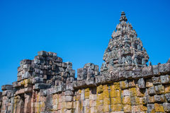 Ancient sand stone castle Royalty Free Stock Photo