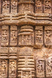 Ancient Sandstone Carvings Royalty Free Stock Images