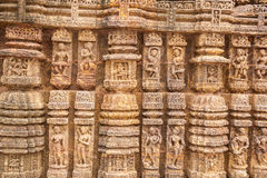 Ancient Sandstone Carvings Royalty Free Stock Image