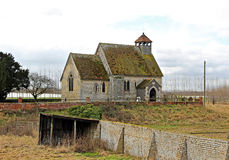 Ancient saxon church Royalty Free Stock Photography
