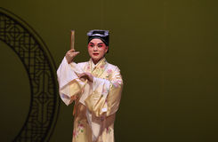 "The ancient scholar-Kunqu Opera ""the West Chamber"" Royalty Free Stock Photography"