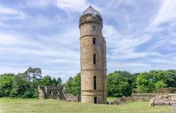 Ancient Scottish Castle Ruins in Irvine Scotland stock images