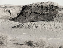 Ancient Scouring. Ice Age geology in the desert Southwest royalty free stock photo