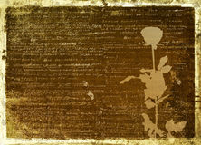 Ancient scratch abstract background Stock Images