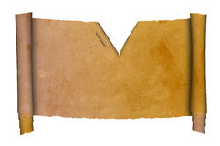 Ancient scroll. Royalty Free Stock Photography