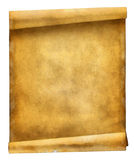 Ancient Scroll Royalty Free Stock Photos