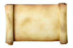 Ancient scroll royalty free stock image