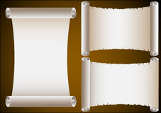 Ancient Scrolls Royalty Free Stock Photos