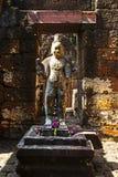 Ancient sculpture Muang Sing Stock Photos