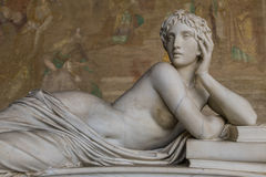 Free Ancient Sculpture Of A Beautiful Woman From Pisa,  Stock Image - 42841721