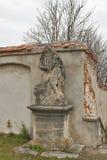 Ancient sculpture. Olesko, Ukraine Stock Photos