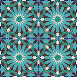 Ancient Seamless Morocco Pattern Stock Photos