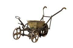 Ancient seeder royalty free stock images