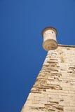 Ancient sentry box at Lleida city Royalty Free Stock Image