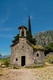 Ancient Serbian church Stock Photos