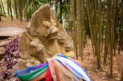 Ancient Serpent Pathway. Taken from the north of Thailand Royalty Free Stock Photos