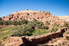 Ancient Settlement - Ait ben Haddou Royalty Free Stock Photography