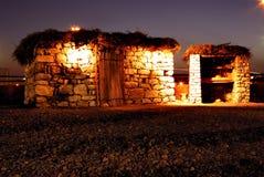 An ancient shelter Stock Photos