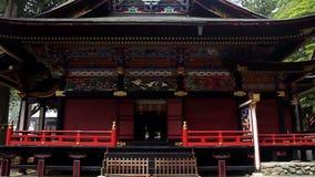 Ancient Shinto shrine Mitsumine. Japan. Chichibu. Saitama stock video