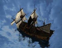 The ancient ship Stock Photos