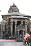 Ancient Shiva temple at Baijnath, Himachal Pradesh, India. Huge Ancient Shiva temple at Baijnath, Himachal Pradesh, India royalty free stock photos