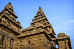 Ancient Shore temple  in  Mahabalipuram Stock Image