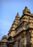 Ancient Shore temple  in  Mahabalipuram Royalty Free Stock Photo
