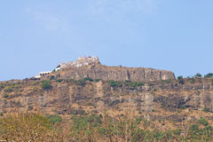 Ancient shrine at Pavagadh; Archaeological Park  World Heritage Royalty Free Stock Image